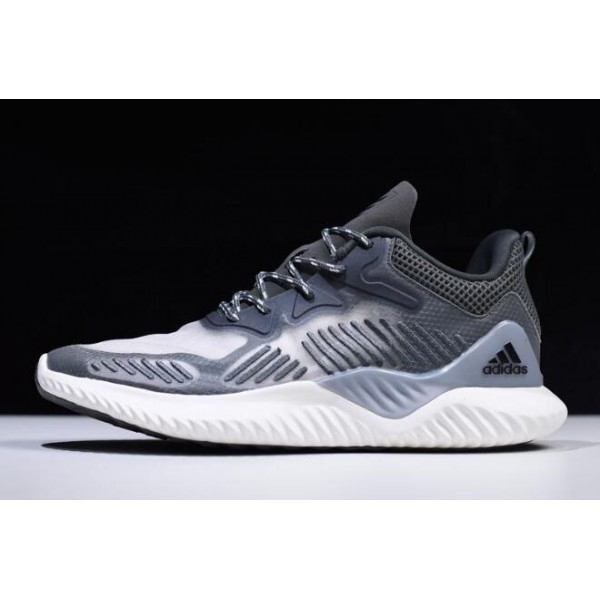 Men's 2018 Adidas AlphaBounce Beyond Grey/White B42384