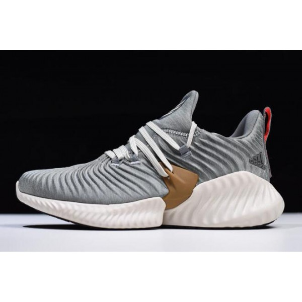 Men's Adidas AlphaBounce Instinct CC M Grey/White Running Shoes