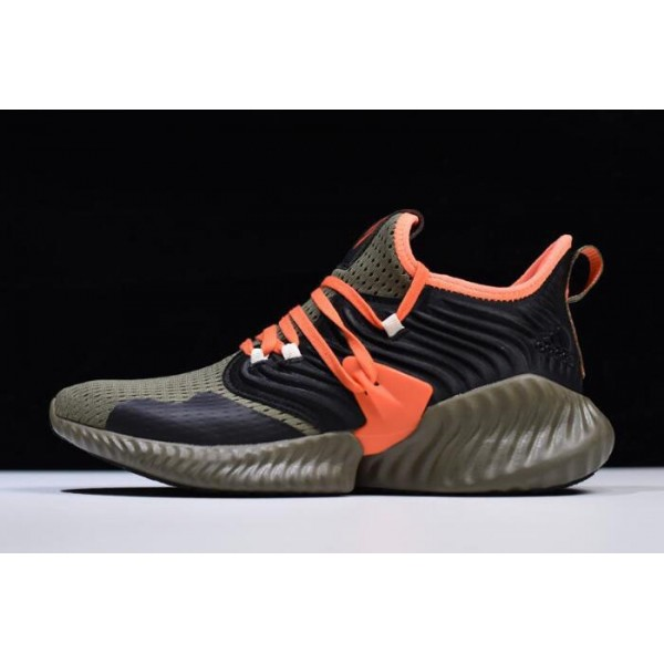 Men's Adidas AlphaBounce Instinct CC M Olive/Team Orange F35394