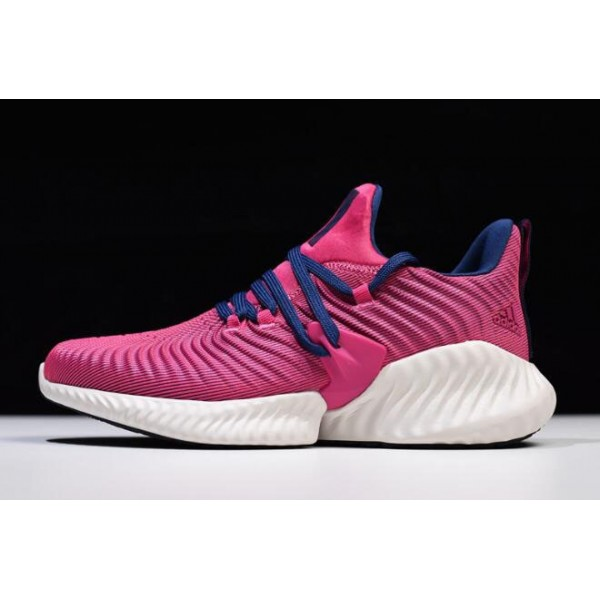Women's Adidas AlphaBounce Instinct CC Real Magenta/Blue Shoes