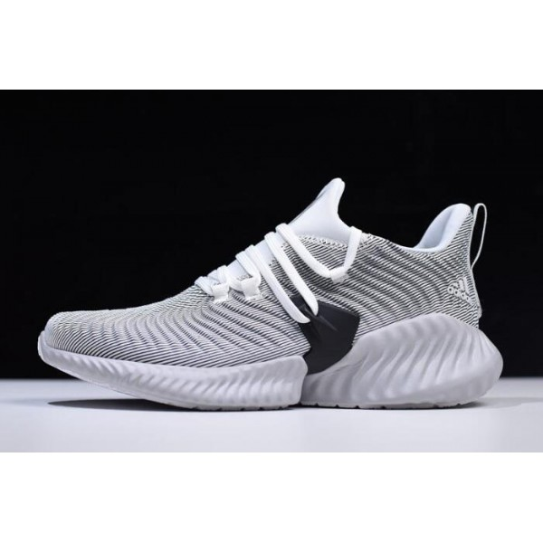 Men's/Women's Adidas AlphaBounce Instinct Cloud White/Grey/Core Black