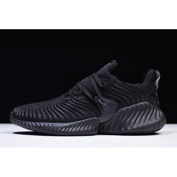 Men's/Women's Adidas AlphaBounce Instinct Triple Black B76037