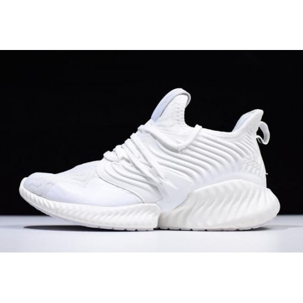Men's Adidas AlphaBounce Instinct Triple White DB2732