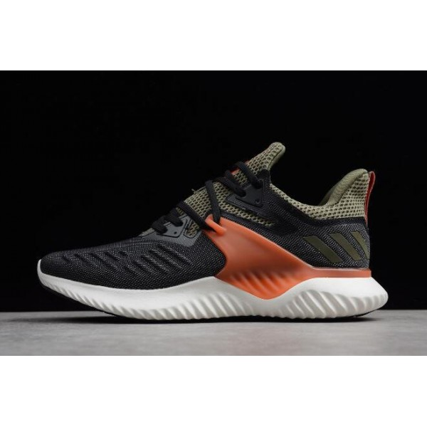 Men's Adidas Alphabounce Beyond 2 M Black/Olive/Orange/White