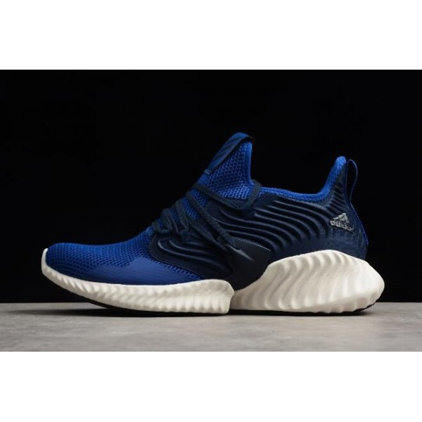 Men's Adidas Alphabounce Instinct CC M Blue/Navy/White Running Shoes