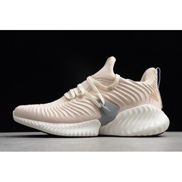 Men's/Women's Adidas Alphabounce Instinct Linen/Cloud White/Grey Three