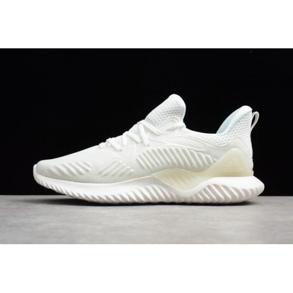 Men's Adidas AlphaBounce Beyond HPC AMS 3M Triple White