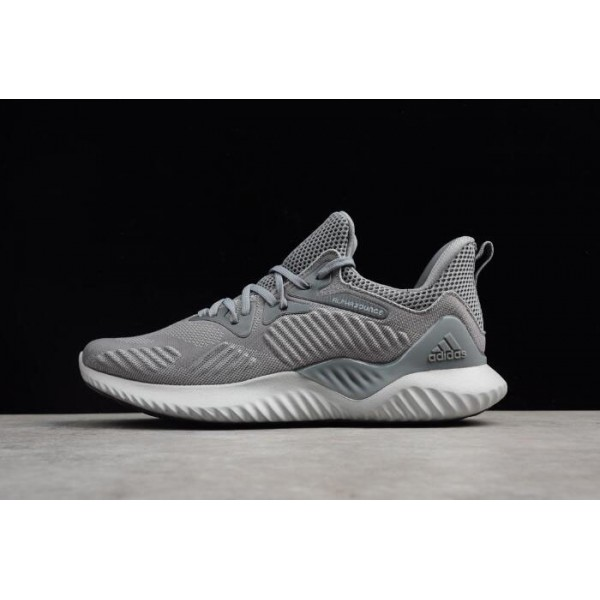 Men's Adidas Alphabounce Beyond Grey Running Shoes