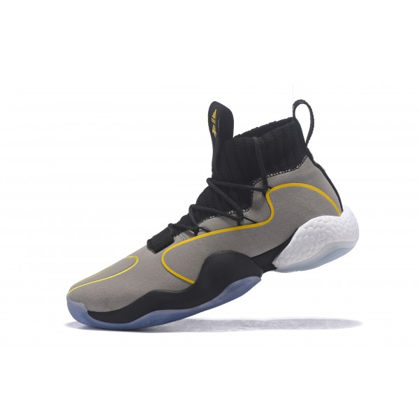 Men's Adidas Crazy BYW X Grey/Black/Yellow
