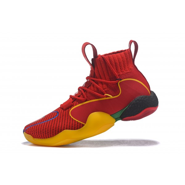 Men's Pharrell Williams x Adidas Crazy BYW X MVP Rockets Red