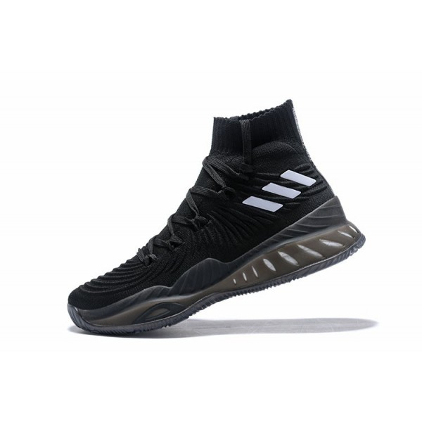 Men's Adidas Crazy Explosive Black/White Shoes