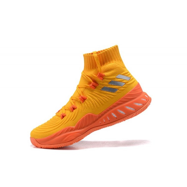 Men's Adidas Crazy Explosive Orange/Red/White Shoes