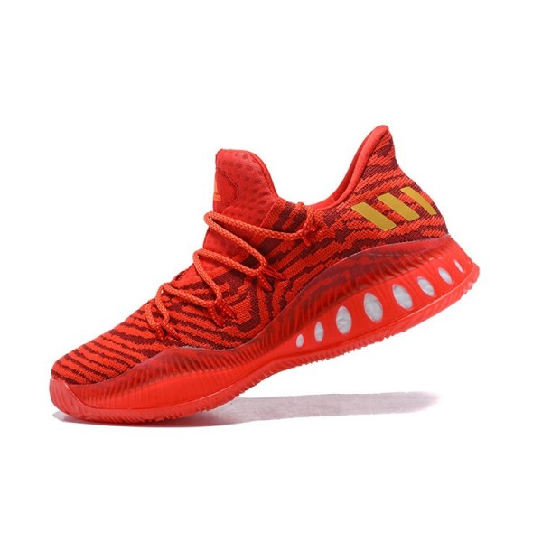 Men's Adidas Crazy Explosive Low All/Star PE Red Gold