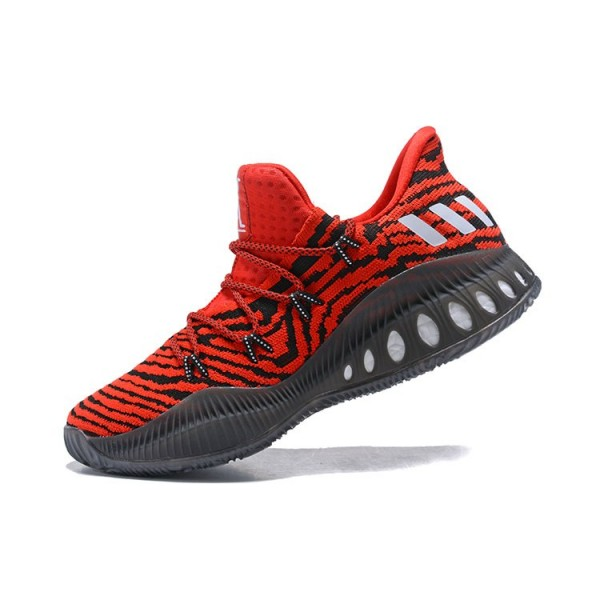 Men's Adidas Crazy Explosive Low Tiger Red Red/Core Black