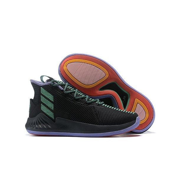 Men's Adidas D Rose 9 Black Green