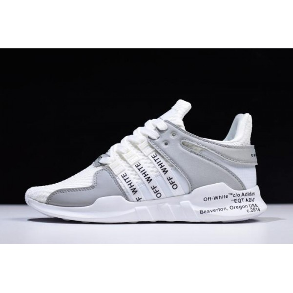 Men's/Women's Off/White x Adidas EQT Support ADV 93/17 White/Grey/Black