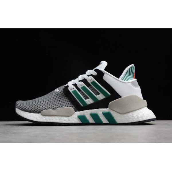 Men's/Women's Adidas EQT Support 91/18 Core Black/Granite/Sub Green
