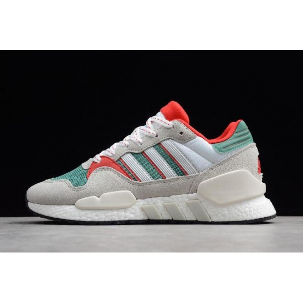 Men's/Women's Adidas EQT Support 91/18 Grey/Green/Red/White