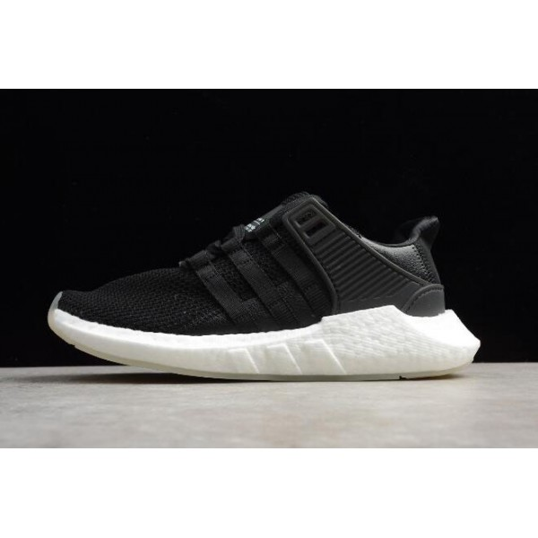 Men's New Adidas EQT Support 93/17 Black White BZ0585