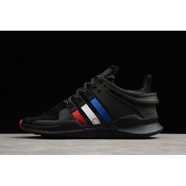 Men's/Women's atmos x Adidas EQT Support ADV Black Red White Blue