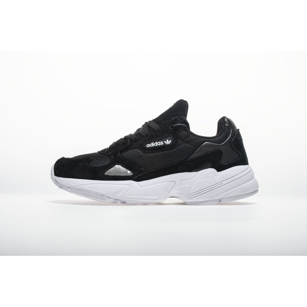 Men's/Women's Adidas Falcon W BB9175 YUNG/2 Black White Shoes