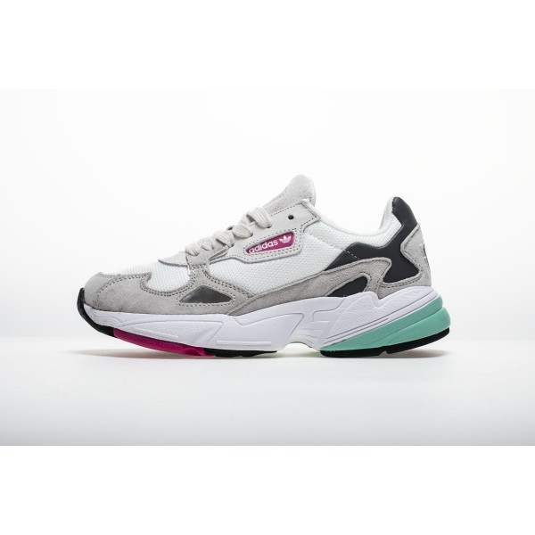 Men's/Women's Adidas Falcon W BB9177 YUNG/2 Dark Grey Shoes