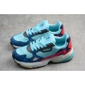 Women's Adidas Falcon Blue/Navy/Pink/Red/White