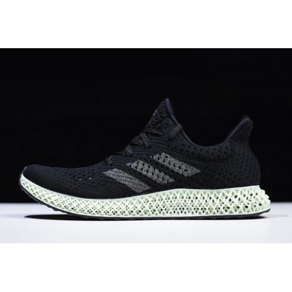 Men's Adidas FutureCraft 4D Core Black/Ash Green B75942