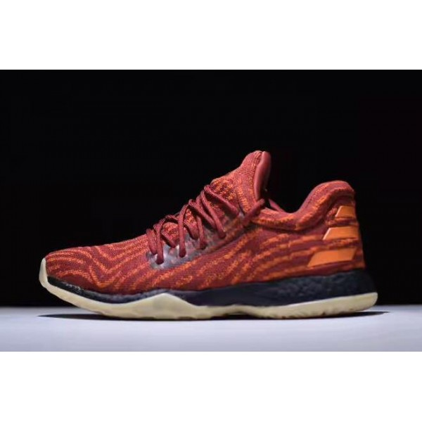 Men's Adidas Harden LS Fast Life Red/Orange/Black
