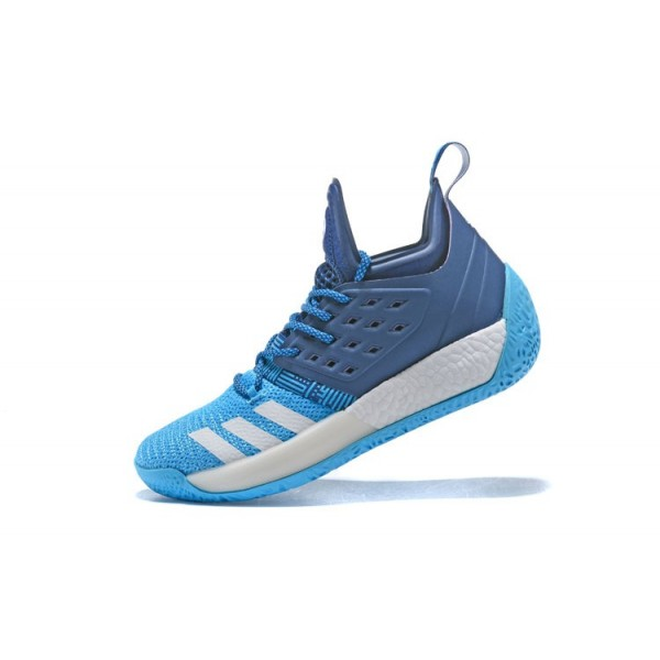 Men's Adidas Harden Vol.2 Sports Blue/White Shoes