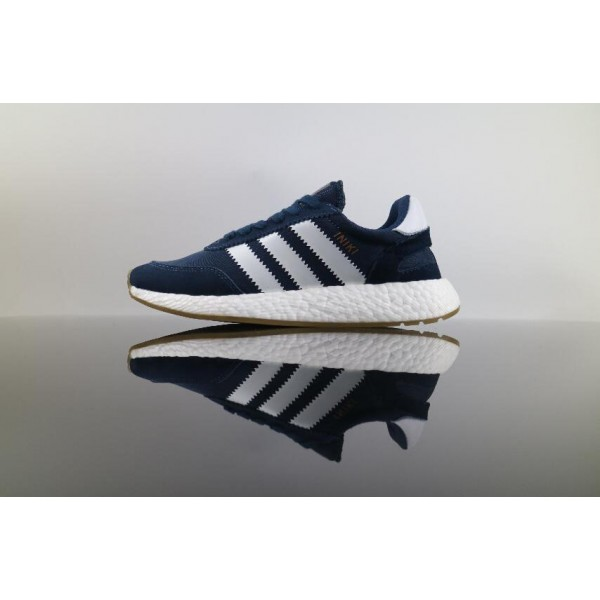 Men's/Women's Best Price Authenic Adidas Iniki Runner Boost Blue White