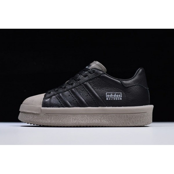 Men's/Women's Rick Owens x Adidas Mastodon Pro II Low Black/Grey
