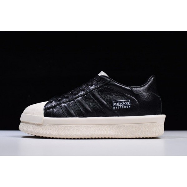 Men's/Women's Rick Owens x Adidas Mastodon Pro II Low Black/Sail