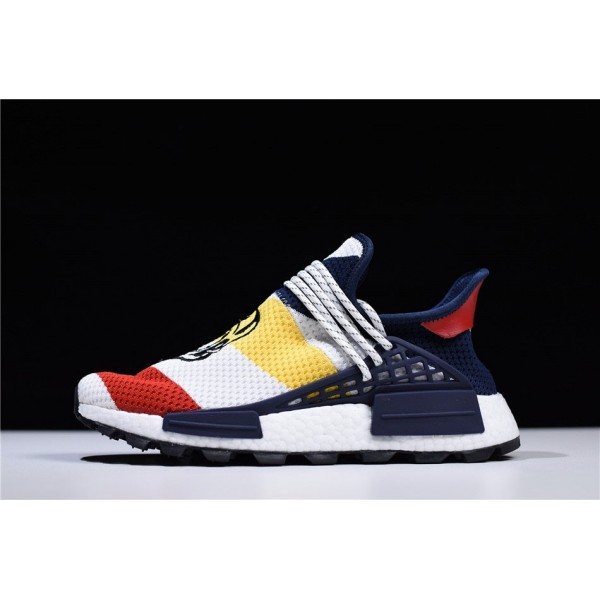 Men's/Women's BBC x Pharrell x Adidas NMD Human Race Trail Heart/Mind