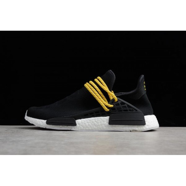 Men's Pharrell x Adidas Boost Human Race NMD Black/White
