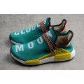 Men's Pharrell x Adidas NMD Boost Race Hu Trail Sun Glow/Core Black/EQT Yellow