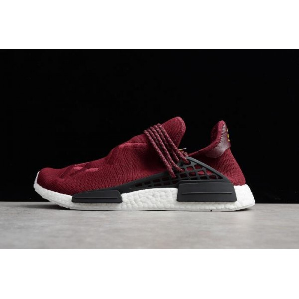 Men's Pharrell x Adidas NMD Human Race Noble Crimson
