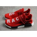 Men's Pharrell x Adidas NMD Human Race Red/Footwear White/Black