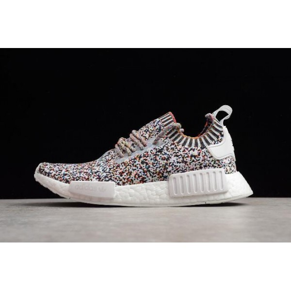 Men's/Women's Adidas NMD R1 Color Static White/Black/Mutli/Color