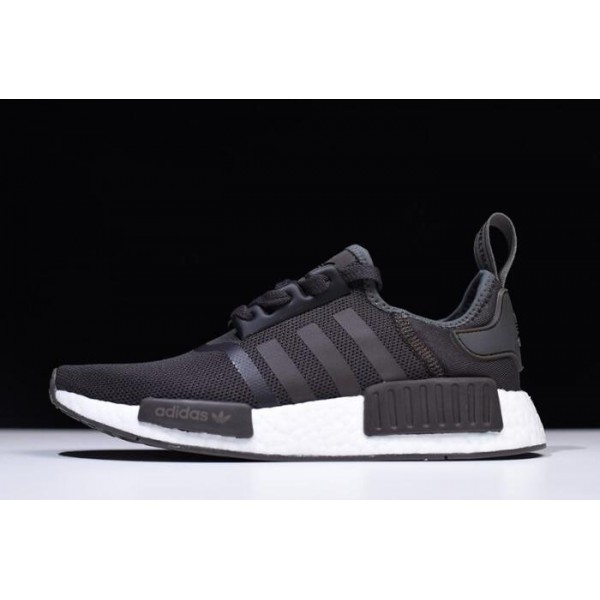 Men's Adidas NMD R1 Trace Grey Metalic/White Shoes