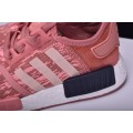 Women's Adidas NMD R1 Primeknit Pink Black Raw Pink/Trace Pink/Legend Ink