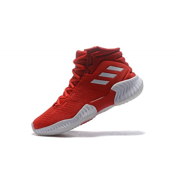 Men's Adidas Pro Bounce 2018 Red/White