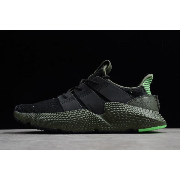 Men's/Women's Adidas Originals Prophere Black/Shock Lime/Green