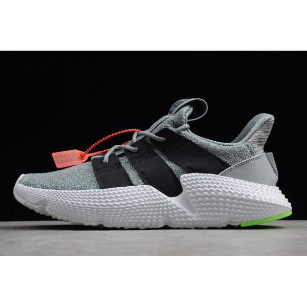 Men's/Women's Adidas Prophere Wolf Grey/Black/Shock Lime
