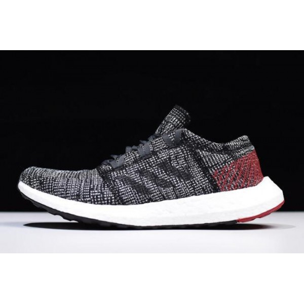Men's/Women's Adidas Pure Boost GO Carbon/Black/Red/White