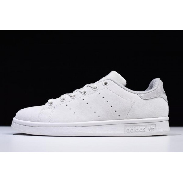 Men's/Women's Reigning Champ x Adidas Stan Smith White Shoes