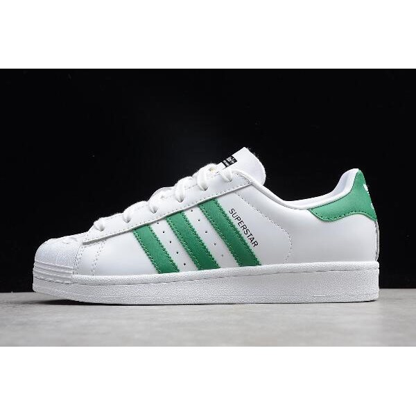 Men's/Women's Adidas Superstar NIGO Bearfoot White/Green