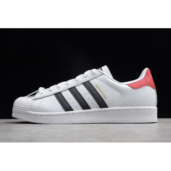 Men's/Women's Adidas Superstar Nigo Bearfoot White/Black/Red