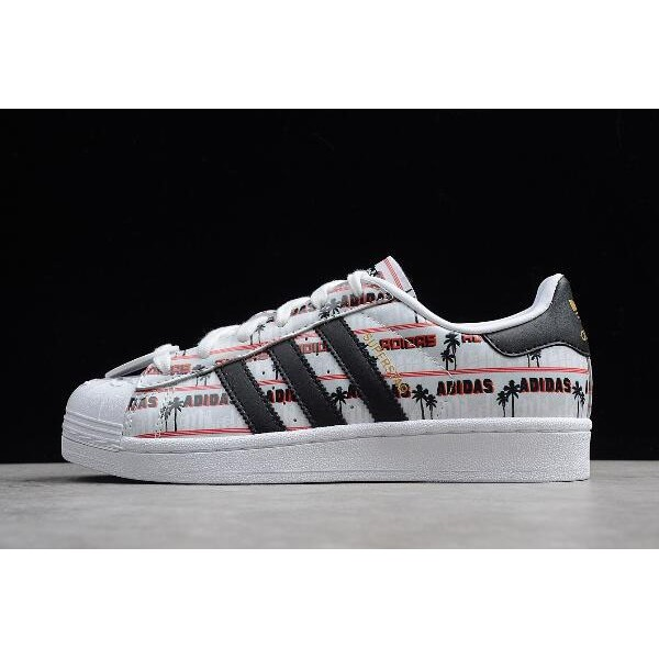 Women's Adidas Superstar Nigo Bearfoot White/Red/Black