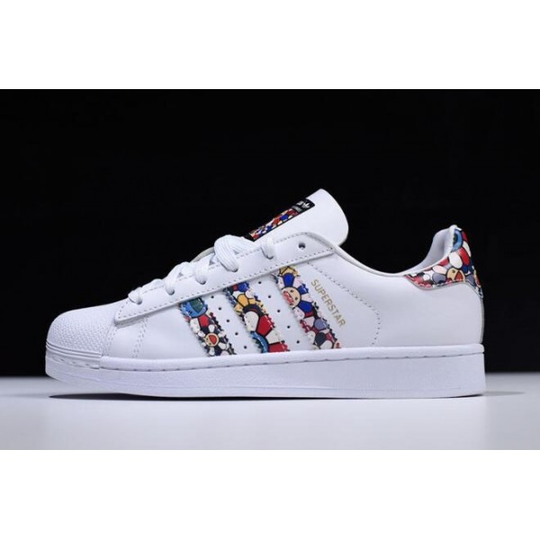 Women's Takashi Murakami x Adidas Originals Superstar II White